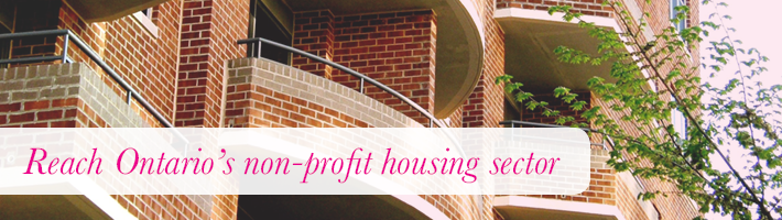 Reach Ontario's non-profit housing sector